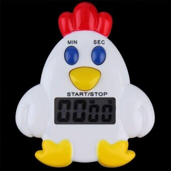Harga Clock Timer Chick Shaped None Battery Electronic Cooking Set TimeSimplicity - intl