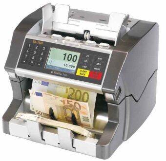 รีวิว COUNTER PLUS เครื่องตรวจนับธนบัตรปลอม(โชว์มูลค่า) EB-1500