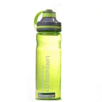 Creative 3 color my portable space water bottles 600ml/800ml/1000ml- Green - intl