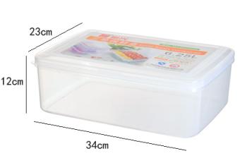 ตู้เย็นตู้แช่แข็ง crisper การจัดเก็บกล่อง