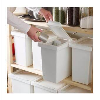CUTE CABINET ถังขยะ ถังแยกขยะมีฝาปิด ขนาด 10 ลิตร