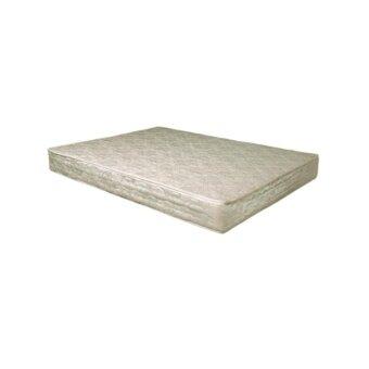 DAXTON ที่นอนเสริมยางและใยมะพร้าวเสริมฟองน้ำ หุ้มผ้า สีครีม ขนาด 3.5 ฟุต หนา 6 นิ้ว รุ่น Rotas - 3.5 Apartment (white) (ส่งกรุงเทพฯและปริมณฑลเท่านั้น)