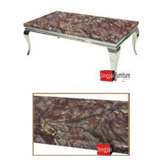 DAXTON โต๊ะกลางโครงสแตนเลสหน้าหิน รุ่น SABINA - 2