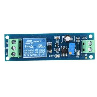 DC 12V Delay Time Delay-OFF Relay Module 0-10s Switch Control Cycle Timer - intl