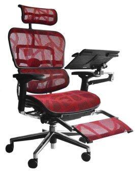 dfprochair เก้าอี้เพื่อสุขภาพ - รุ่น Ergo2-TOP-PLUS สีแดง
