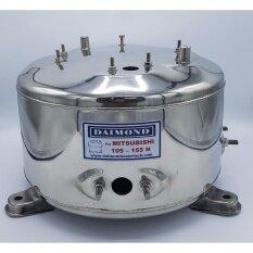 diamond ถังปั๊มน้ำ ถังสแตนเลสปั๊มน้ำ ถังน้ำสแตนเลส มิตชู Mitsubishi WP105-155N (อย่างหนา)