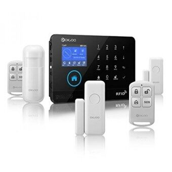 Digoo DG-HOSA 433MHz Wireless 3GGSMWIFI Home and Business Security Alarm System DIY Smart Alarm Systems Kits Infrared Motion Sensor Door Magnetism Alert with APP Control Update Version - intl