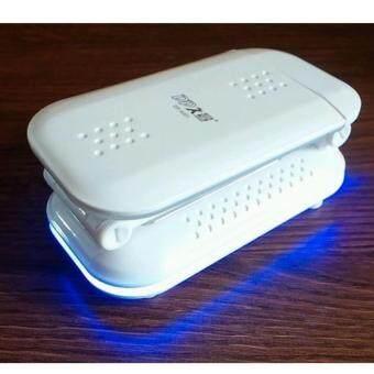DP-6001 LED18ดวง (หัวหมุนได้) ตั้งโต๊ะแบบอเนกประสงค์พับเก็บได้(มีไฟหรี่) - 2