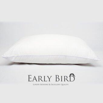 Early Bird Bedding หมอนหนุนใยโพลีเอสเตอร์ มาตรฐานโรงแรม