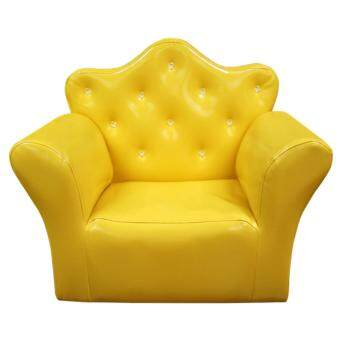Harga ECF Furniture Princess Chair ( Sofa เด็ก ) - สีเหลือง