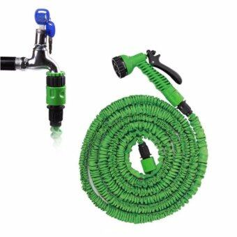 Elastic Hose Water pipe 22.5M/75FT Automatically EXPANDS andContracts (Green) - 3