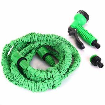 Elastic Hose Water pipe 22.5M/75FT Automatically EXPANDS andContracts (Green) - 4