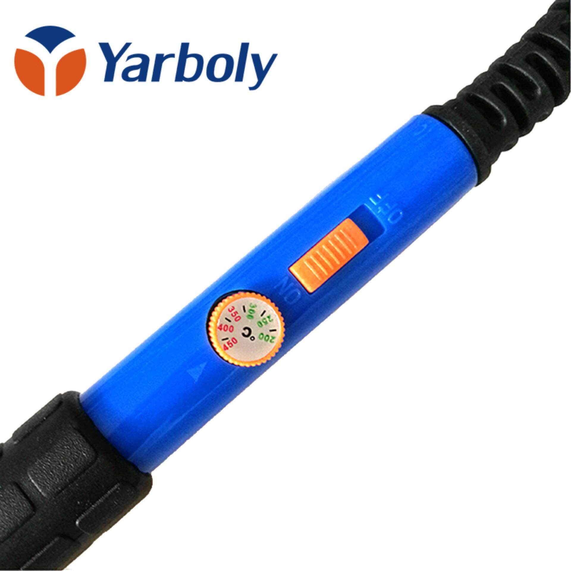 Electric Solder Soldering Iron Temperature Adjustable Pen HandleWelding Station Repair Tool 220V 60W EU Plug .