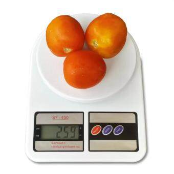 Harga Electronic Kitchen Scale Max 10 Kg. รุ่น SF-400 (สีขาว)