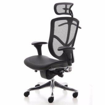 เก้าอี้เพื่อสุขภาพเออร์โกเทรน รุ่น ERGO-SMART สีดำ
