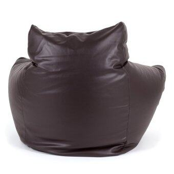 อยากขาย Esupersave เก้าอี้ Beanbag ทรง Sofa Armchair (สีน้ำตาลเข้มช๊อคโกแลต)