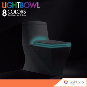 Ezy Living Toilet Light Bowl ไฟโถส้วมเปลี่ยนสีได้ 8 สี รุ่น EZY-COME