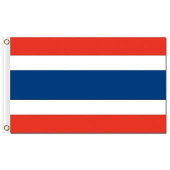 Harga Factory price wholesale Thailand 3x5ft polyester country flags -intl