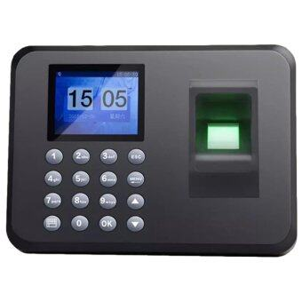 Fingerprint Time Attendance Clock A206 Punches & PunchingMachines(Black)
