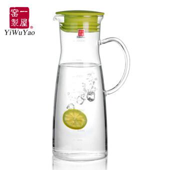 First House ฝาแก้วกรองความจุขนาดใหญ่แก้วกาต้มน้ำเย็นน้ำเย็นหม้อ