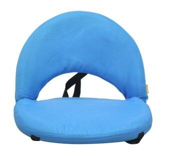 Floor Chair เก้าอี้ญี่ปุ่น แบบนั่งพื้น รุ่น Candy (สีฟ้า)