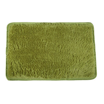 Fluffy Rugs Anti-Skid Shaggy Area Rug Dining Carpet Floor Mat Grassgreet ( Intl)