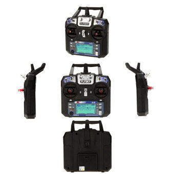 Flysky FS-i6 AFHDS 2A 2.4GHz 6CH Radio System Transmitter for RCHelicopter Glider with FS-iA6 Receiver Mode 2 - intl