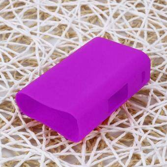 For Evic Primo 200W MOD Box Silicone Case Skin Cover Bag PocketPurple - intl