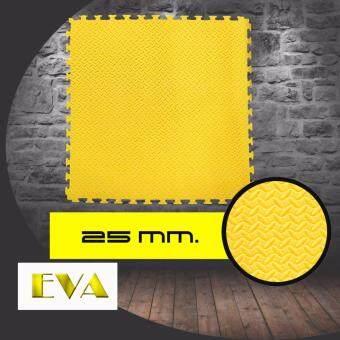 Gadget So Cool แผ่น EVA Mat แผ่นยางกันกระแทก แผ่นยางปูพื้น โฟมกันกระแทก จิ๊กซอว์ปูพื้น 25 mm. (สีดำ/เหลือง) ดีไหม