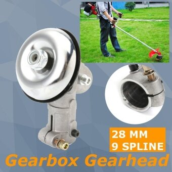 Gearhead Gearbox for Trimmer Strimmer Brush Cutter Lawnmower 28mm 9 Tooth Splin - intl
