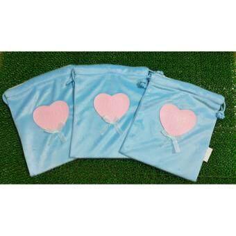 [Gift for Mom] กระเป๋าผ้าหูรูด รักแม่เด้อ