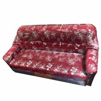 อยากขาย Gindex โซฟา 3 ที่นั่ง หุ้มผ้า (สีแดง)