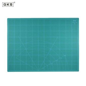 GKS 18\ x 24\ Multipurpose Self Healing Builders Double-Sided 5-Ply Paper Cutting Mat Durable PVC A2 Cutting Mat 60cm�45cm Green - intl