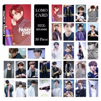 GOT7 Shopping Mall Never Ever MARK Album Kpop LOMO Cards NewFashion Self Made Paper Photo Card HD Photocard LK489 - intl
