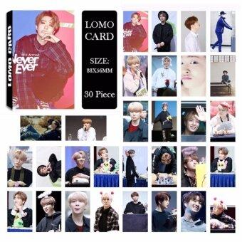 GOT7 Shopping Mall Never Ever YoungJae Album Kpop LOMO Cards NewFashion Self Made Paper Photo Card