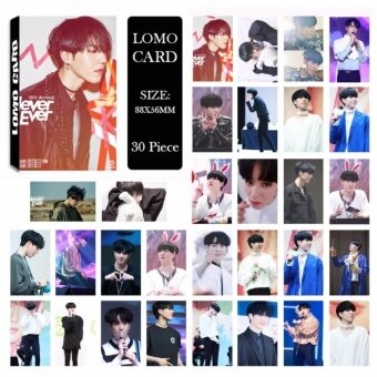 GOT7 Shopping Mall Never Ever YuGyeom Album Kpop LOMO Cards NewFashion Self Made Paper Photo Card HD Photocard LK490 - intl