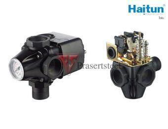 Haitun ( PC-2B ) สวิทซ์ควบคุมปั้มน้ำอัตโนมัติ แบบ 3 ทาง\nสำหรับควบคุมปั้มน้ำแบบ Booster Pump
