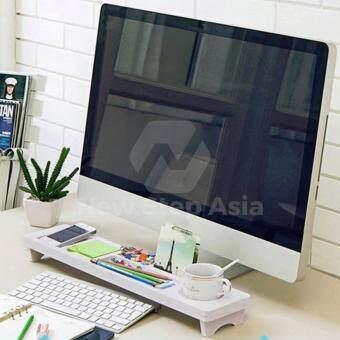 Hakone ชั้นวางของหน้าคอมพิวเตอร์ ขั้นวางของบนโต๊ะคอมพิวเตอร์ชั้นวางของ ถาดวางของ รีวิว