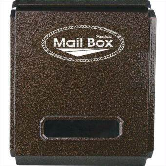 ตู้จดหมาย กล่องจดหมาย HANABISHI LT-081 ตู้รับจดหมาย สีอัลลอยด์\nใส่นิตยสารได้ แข็งแรง ทนทาน