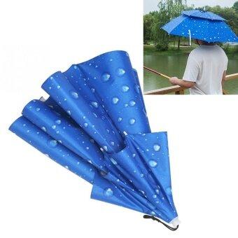 ... Outdoor Source · coconie Camping Folding Stool Portable 3 Legs Handy Folding Headwear Sun Umbrella Hats Cap Hands Free
