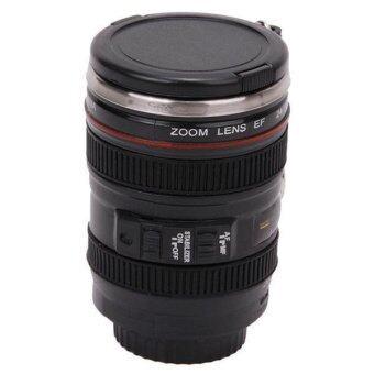 Hang-Qiao Mini Stainless Steel Camera Lens Liquor Shot Glass CupBlack - 2 ...
