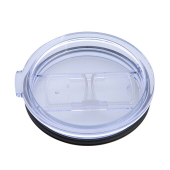 Hanyu Plastic Splash Spill Proof Lid for RTIC and YETI Rambler 20Oz Tumbler Cup Replacement Transparent
