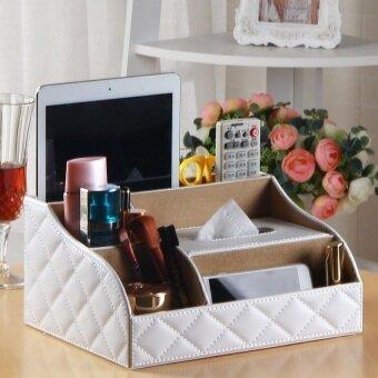 HAOFEI 27 × 20 × 13Cm Household Multi-Purpose Paper Towel BoxPumpingpaper Box Napkin Paper Box Paper Box For Living Room.  ArcWhitebox - intl
