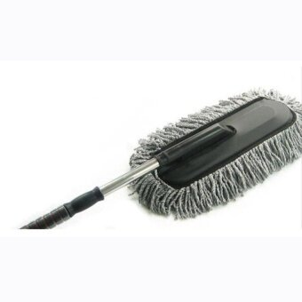 HappyLife Car Telescopic Retractable Handle Duster Wash Brush WaxMopinterioruse Cleaning Tool Creative