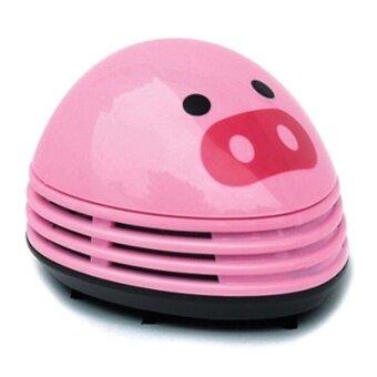 HappyLife Electric Desktop Vacuum Cleaner Mini Dust CleanerPinkpigprints Design