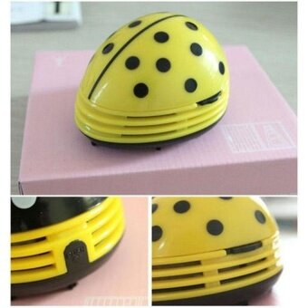 HappyLife Electric Table Vacuum Cleaner Mini Dust CleanerYellowbeetlesprints Design