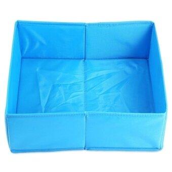 HappyLife Foldable Storage Box Clothes Underwear DrawerOrganizerpolyesterfabric Container
