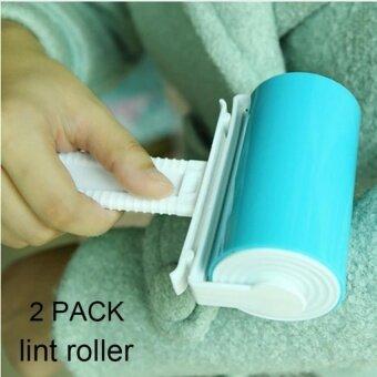 ขาย HappyLife Gl Sticky Lint Roller Bukm 2 Piece Reusable StickyPicker Cleanerset Washable Travel Lint Roller Pet Hair LintRemover Hand Brushfor Clothing And Fabrics