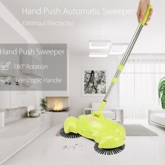 HappyLife Spin Home Hand Push Broom Household Floor Dust CleaningCleanersweeper Mop Tool