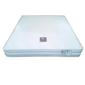 HEROD ที่นอนเพื่อสุขภาพ ระบบ PosturePedic Dual Support Systemเสริมฟองน้ำชาโคล ผ้าบุนุ่ม Micro Smart หนา 10.5 นิ้ว รุ่น MonsieurLa Collection (WHITE) ขนาด 5 ฟุต(WHITE)